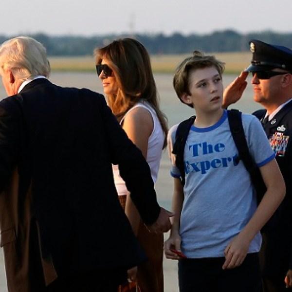 Donald Trump, Barron Trump, Melania Trump_398938