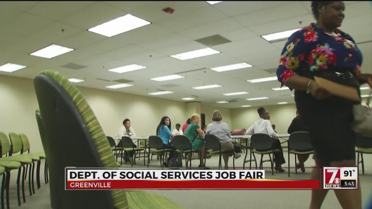 DSS Hosts Upstate Job Fair