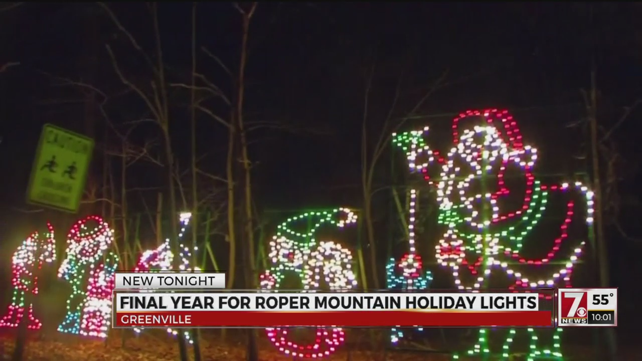 Roper Mountain Holiday Lights kicks off final season
