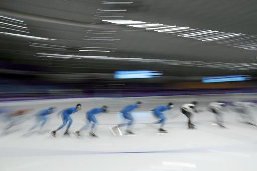 Pyeongchang Olympics Speed Skating_542365