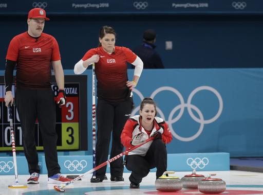 Pyeongchang Olympics Curling_542064