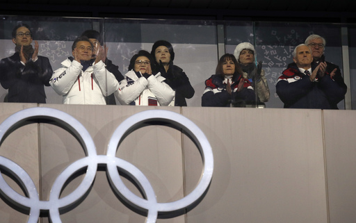 Pyeongchang Olympics Opening Ceremony_542323