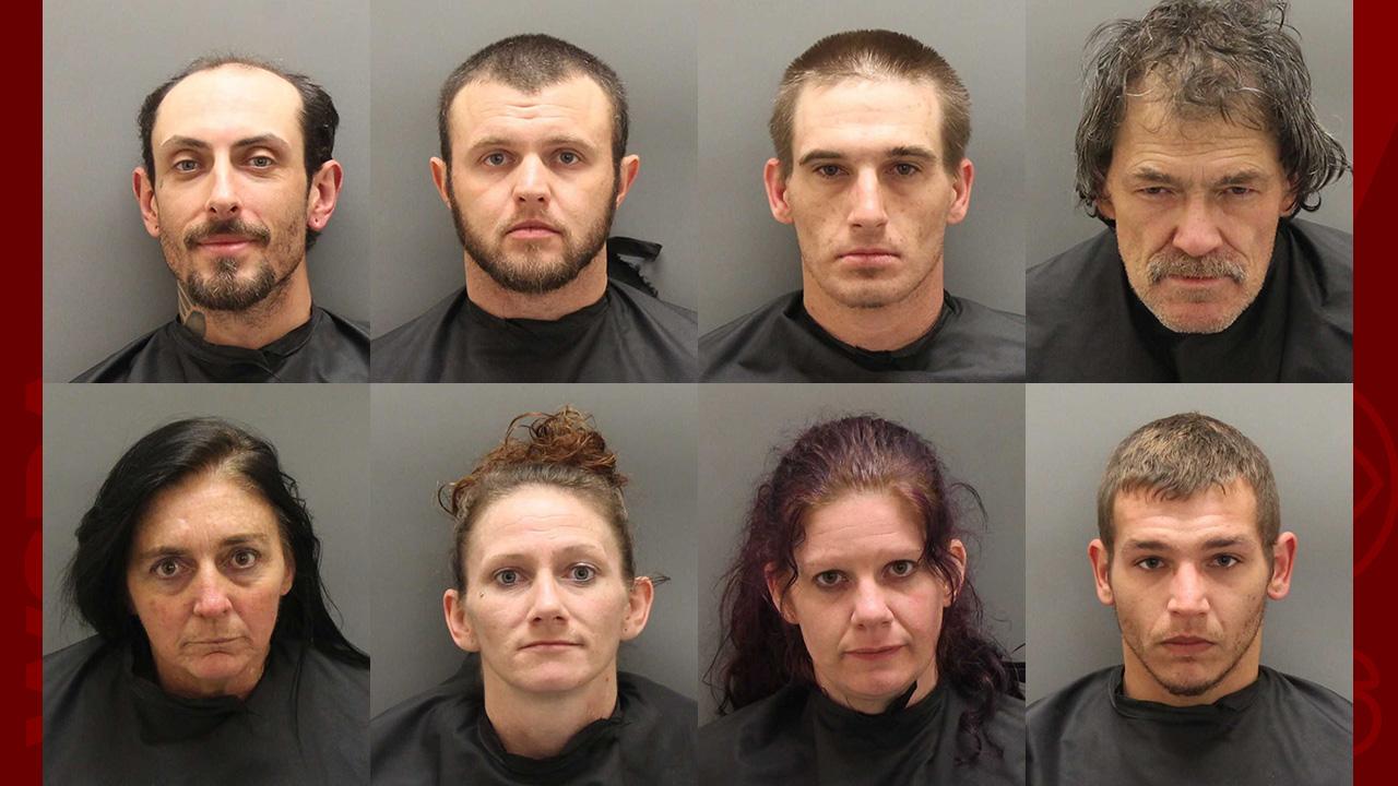 8 arrested in Oconee Co  Sheriff's Office's 'Operation