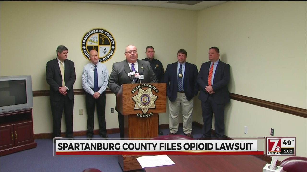 opioid lawsuit Spartanburg County