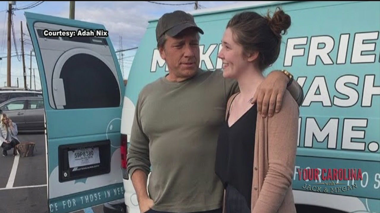 Mike Rowe Spotlights Free Greenville Laundry Service