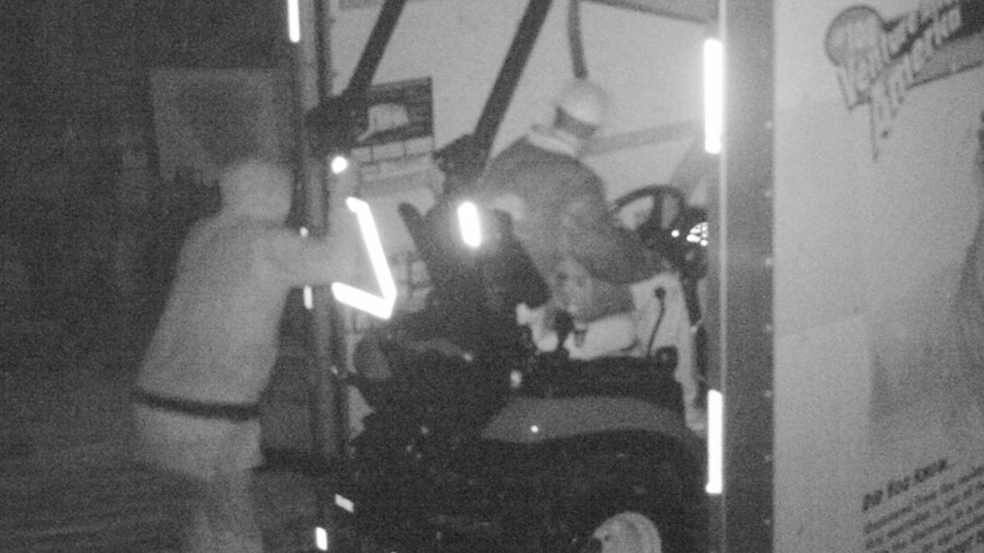 Meade Tractor in Mills River Henderson County equipment theft web crop
