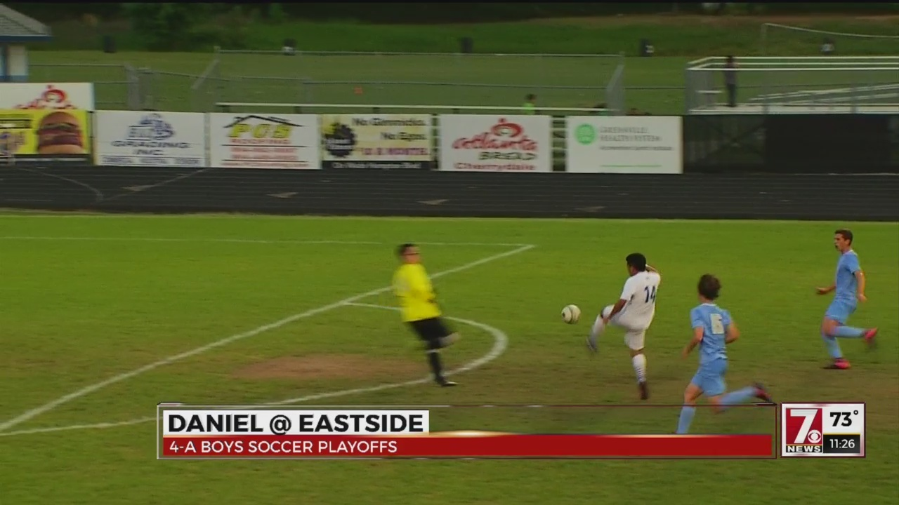 Eastside and Greenville Boys Soccer Teams Advance to Upper State Finals