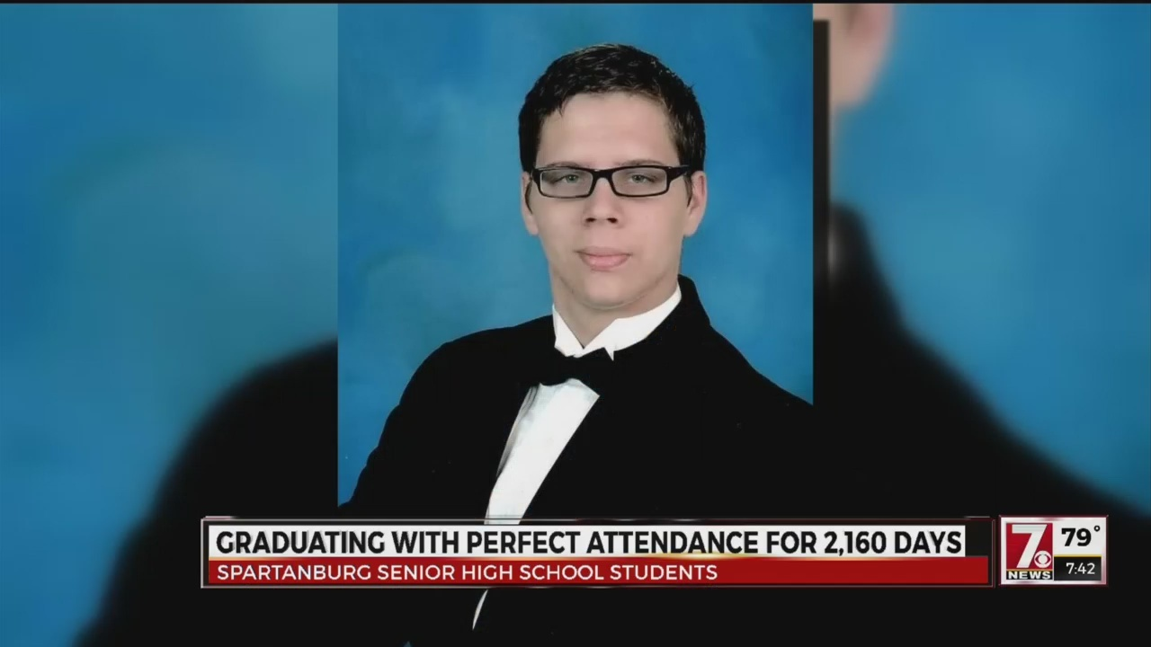 Upstate Students to Graduate with Perfect Attendance