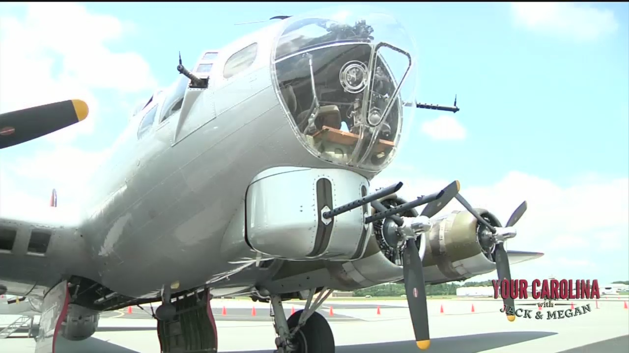 WWII Bomber Plane Offering Flights and Tours in Greenville