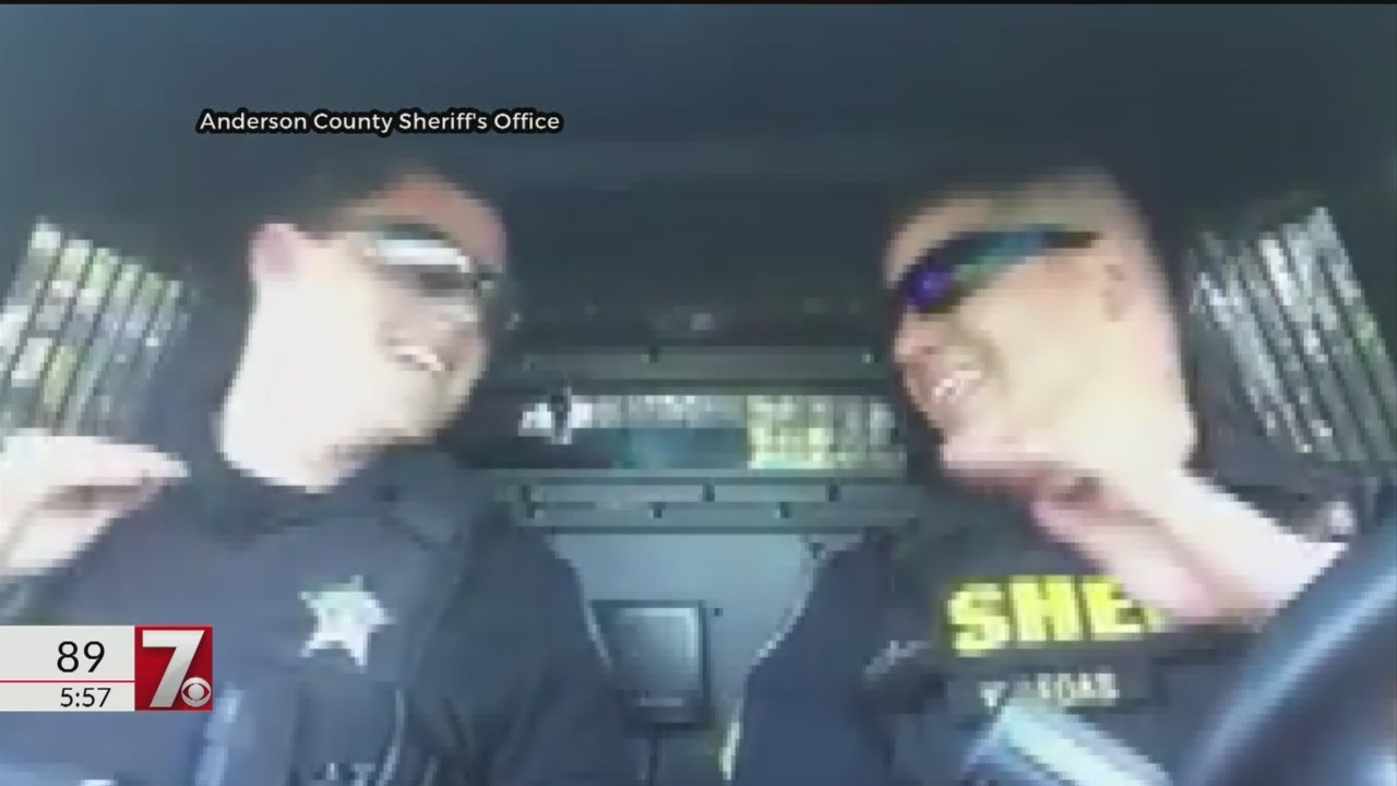 Anderson police officers go viral in lip sync battle