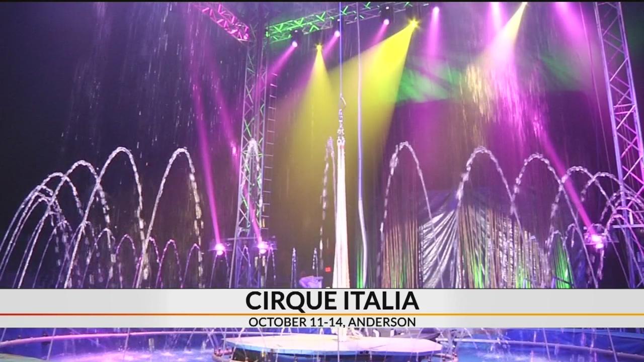 European water circus 'Cirque Italia' returns to Upstate