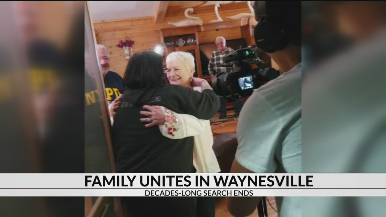 Waynesville woman unites with long lost granddaughter