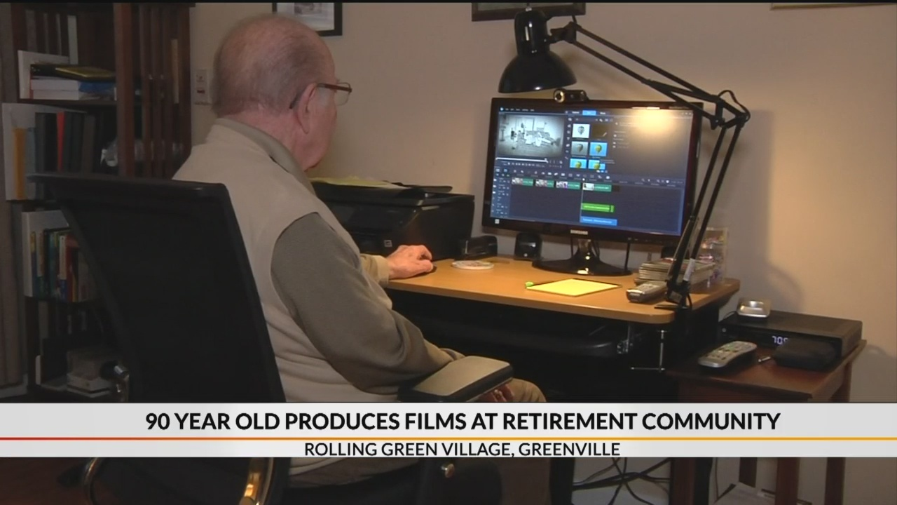 90 year-old producing films inside retirement community