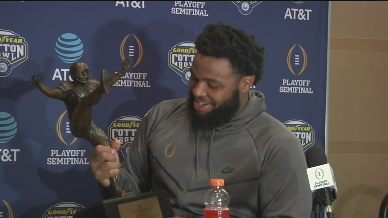 Clemson Teammates Christian Wilkins and Clelin Ferrell Discuss Preparing for the Cotton Bowl Without Dexter Lawrence