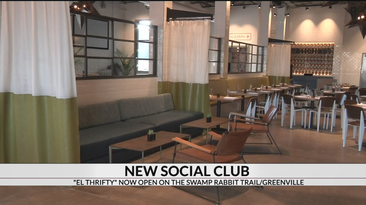 Upscale social club opens off Swamp Rabbit Trail