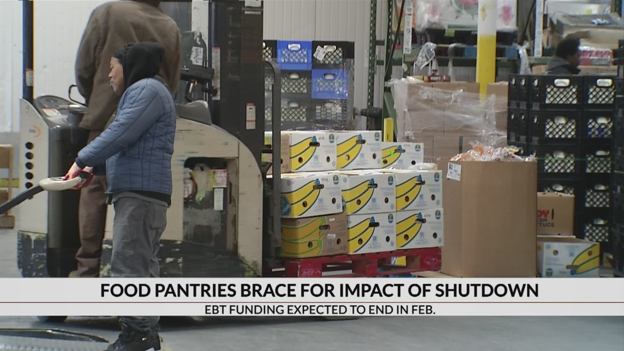 Food Pantries brace for government shutdown impact