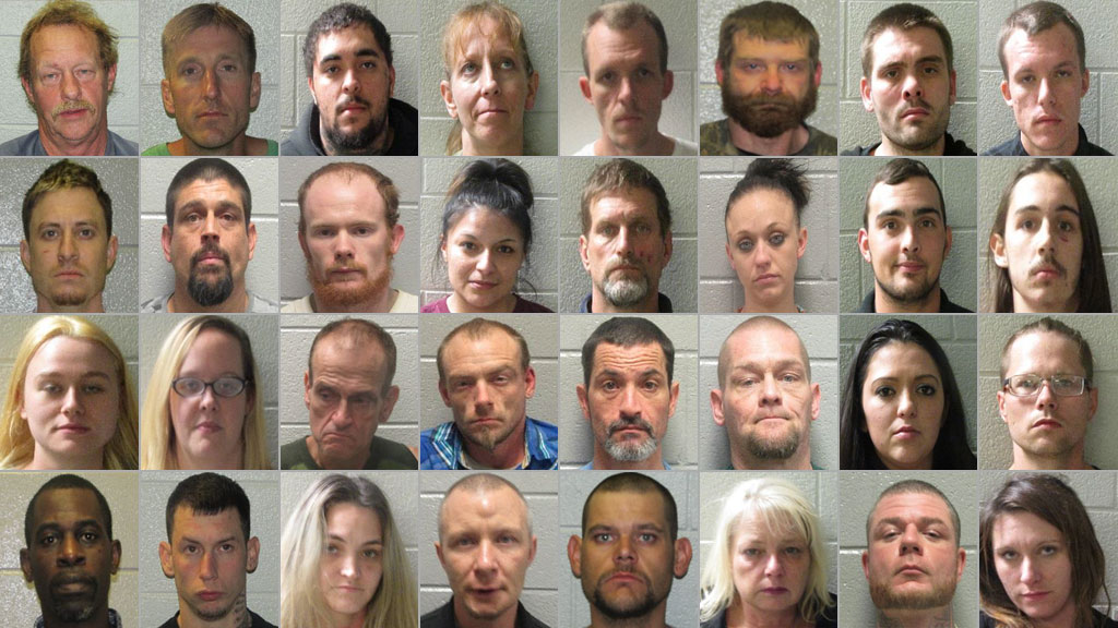 MUGSHOTS: Dozens arrested in Henderson Co  roundup