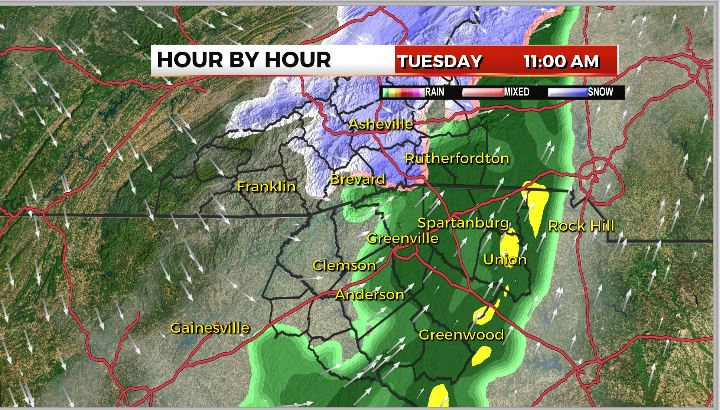 Winter WX Tuesday