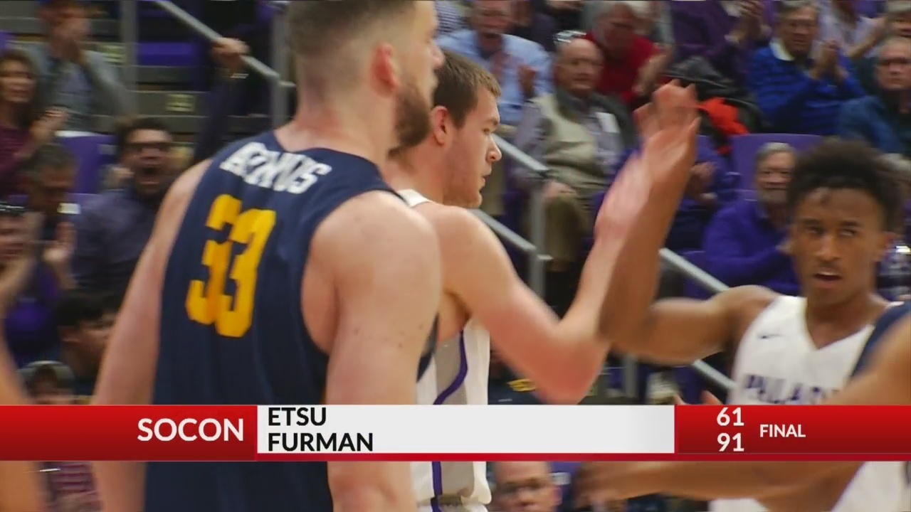 Furman Blows Past ETSU, 91-61