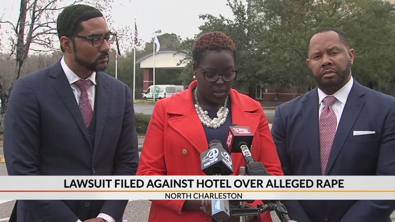 Lawsuit filed against SC hotel over alleged rape