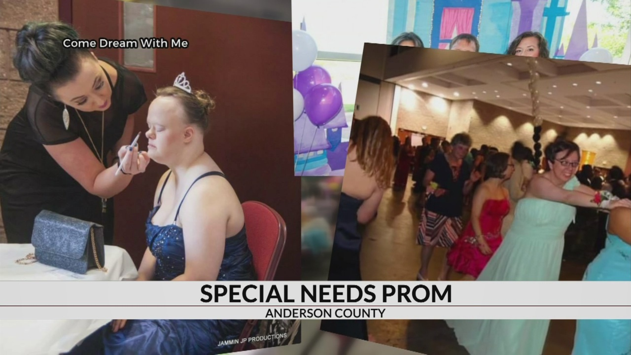 """Volunteers prepare for Sunday's """"Come Dream with Me"""" prom in Anderson"""