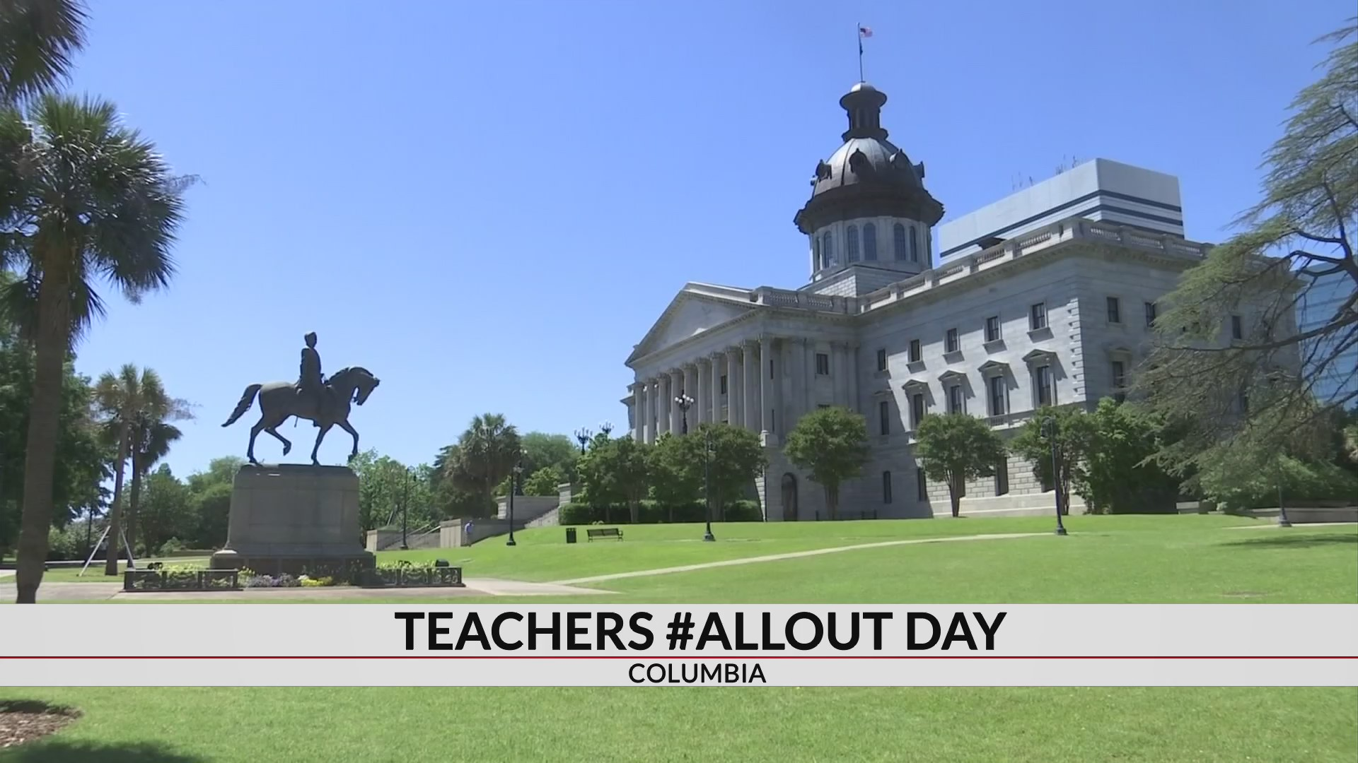 """SC teachers are going """"All Out' to change education reform bill"""