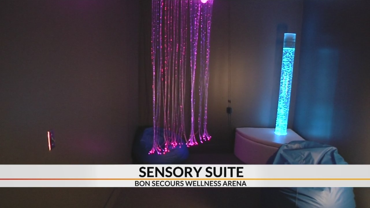 "New ""Sensory Suite"" open for reservations at Bon Secours Wellness Arena"