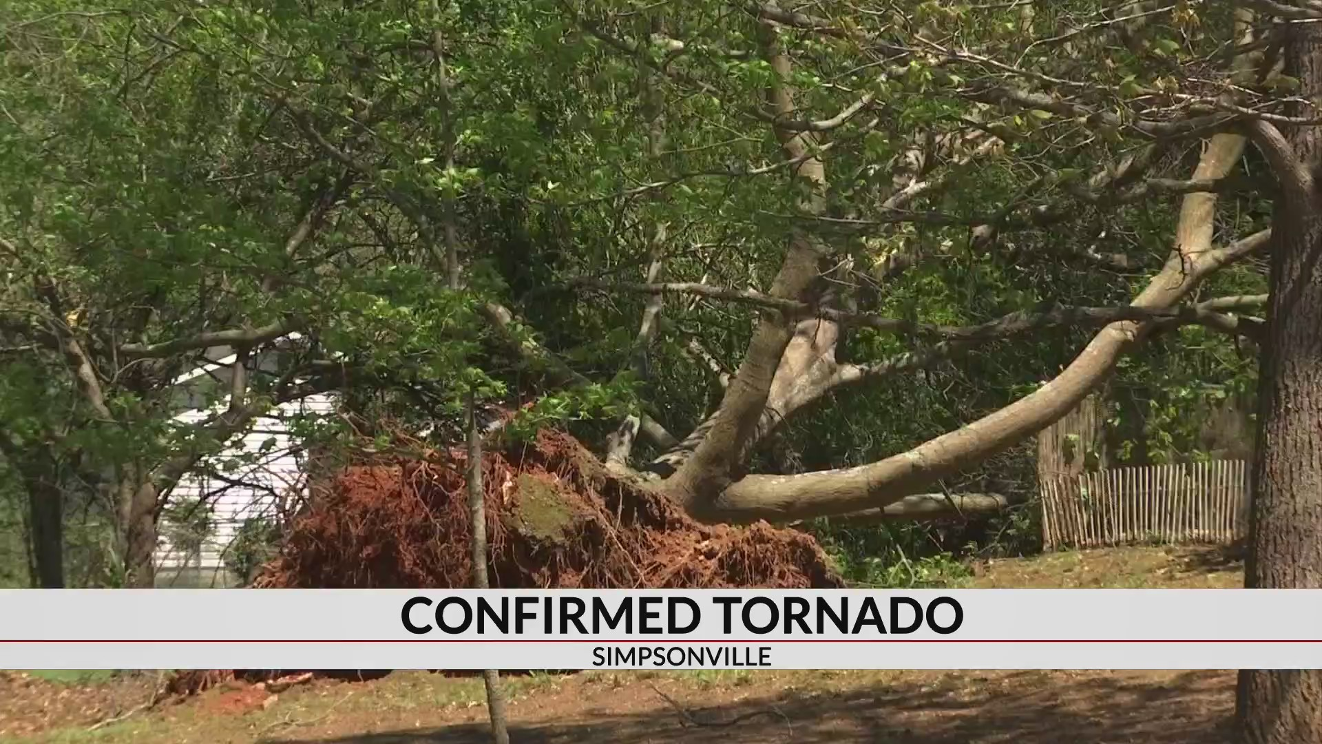 Tornadoes hit Simpsonville & Hart Co., NWS confirms