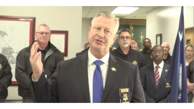 Florence Sheriff Kenney Boone indicted, suspended from
