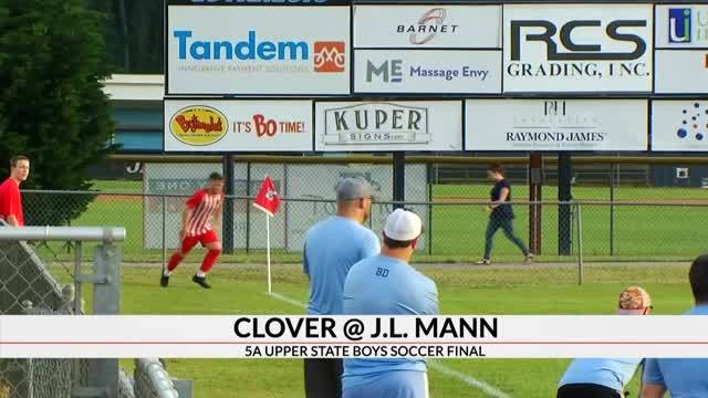 Boys Soccer Upper State Final Winners Include, J.L. Mann, Eastside, Southside Christian & Dixie