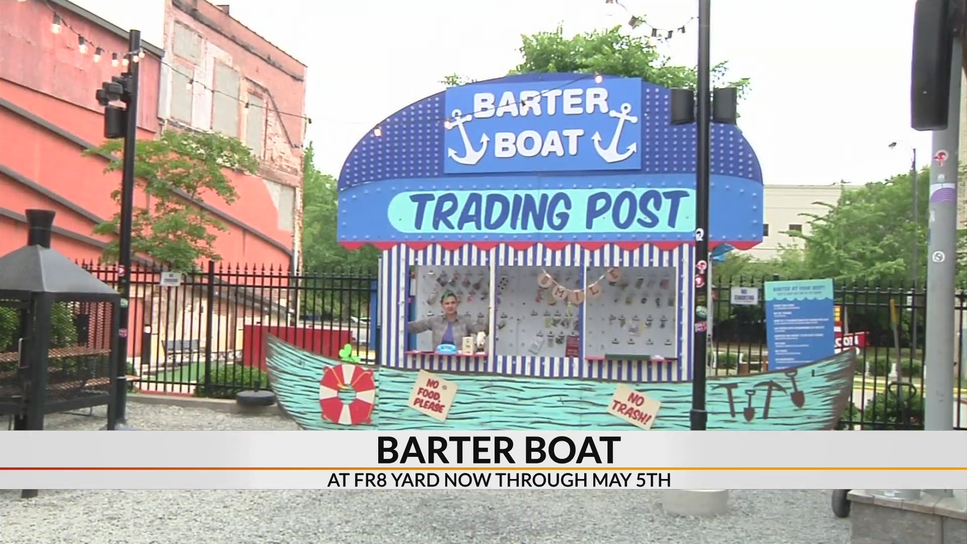 Pop-up trading post stops in Spartanburg
