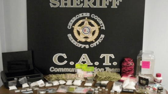 Deputies arrest woman after finding more than 1 5 pounds of