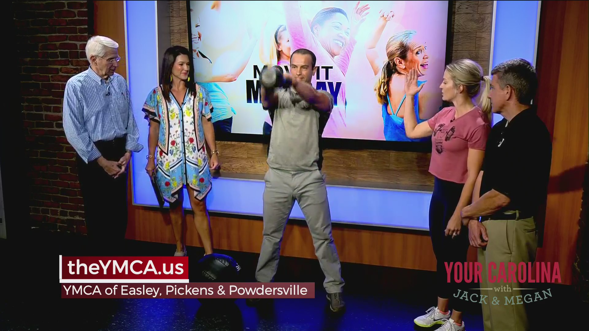 Move It Monday - YMCA of Easley, Pickens & Powdersville