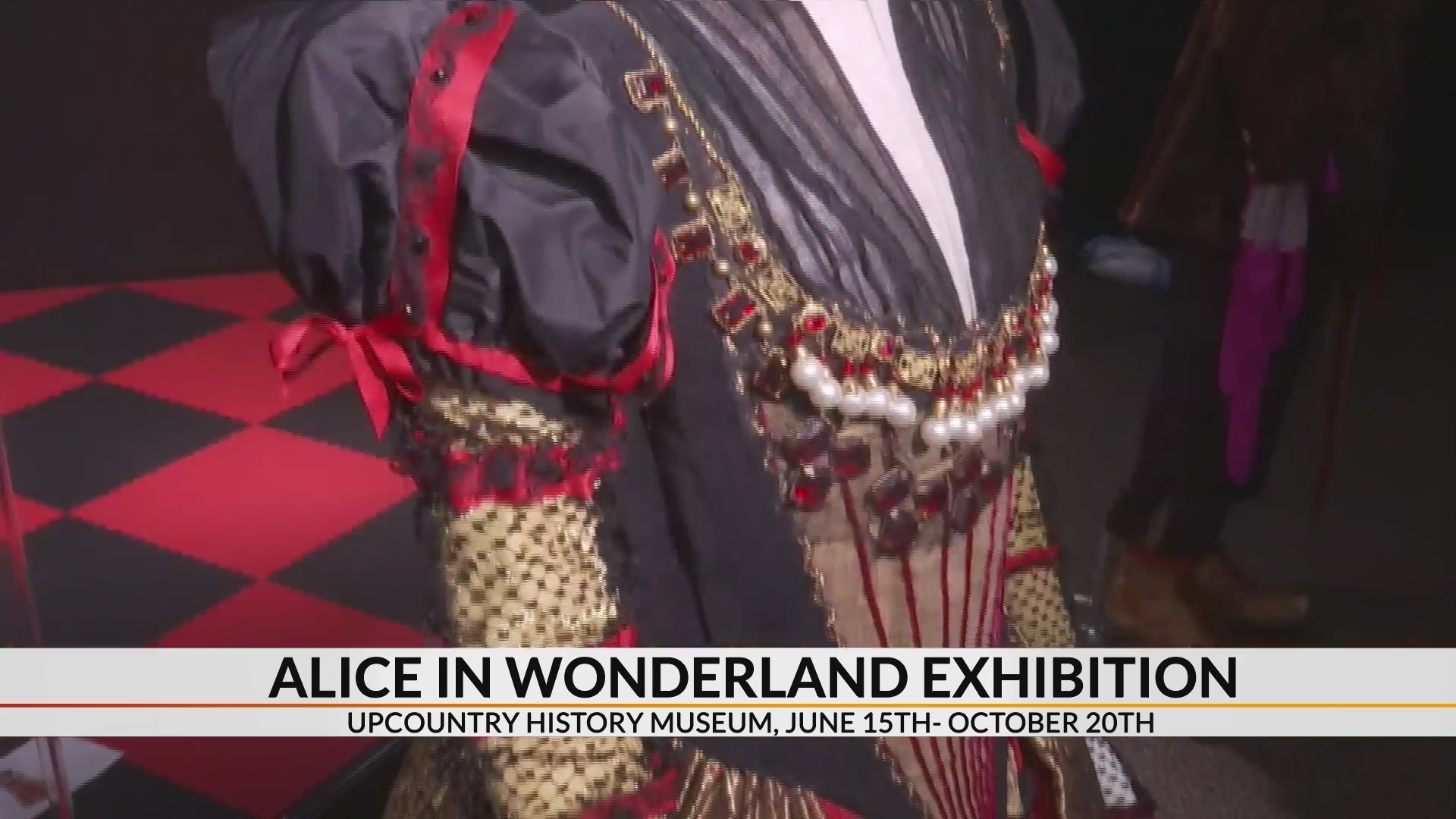 Oscar winning Alice in Wonderland costumes come to Greenville museum