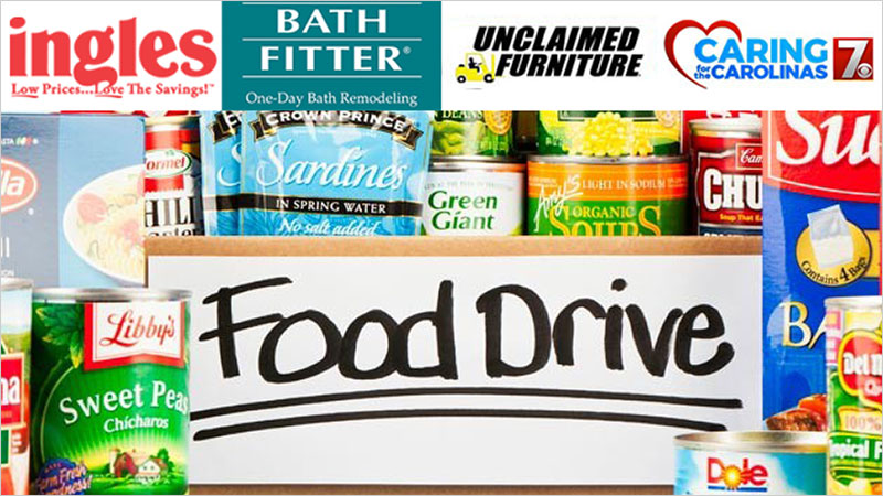 Caring for the Carolinas Food Drive