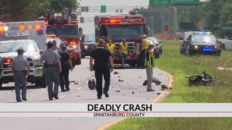 1 Dead When Motorcycle Crashes After