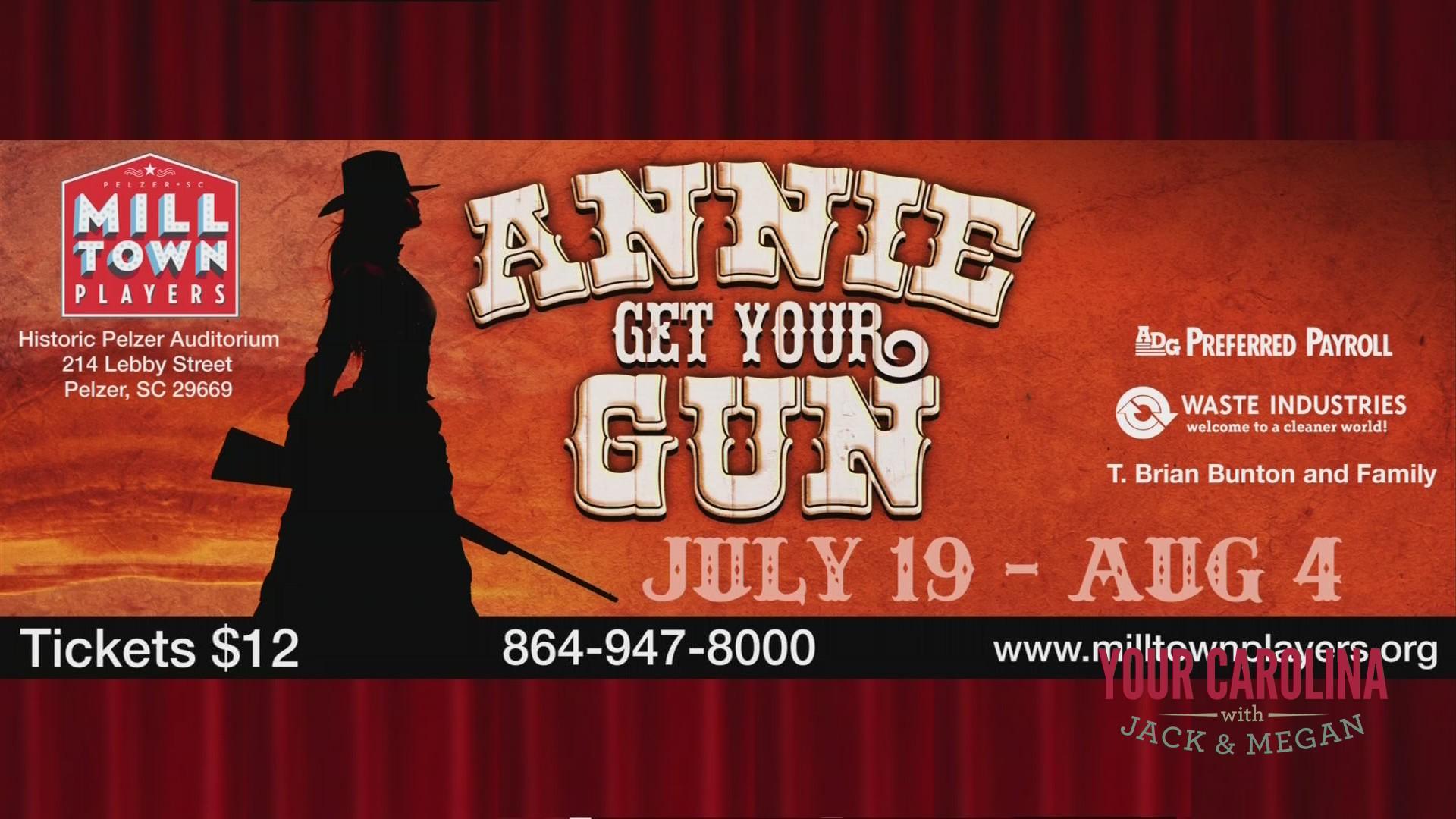 """Milltown Players Presents """"Annie Get Your Gun"""""""