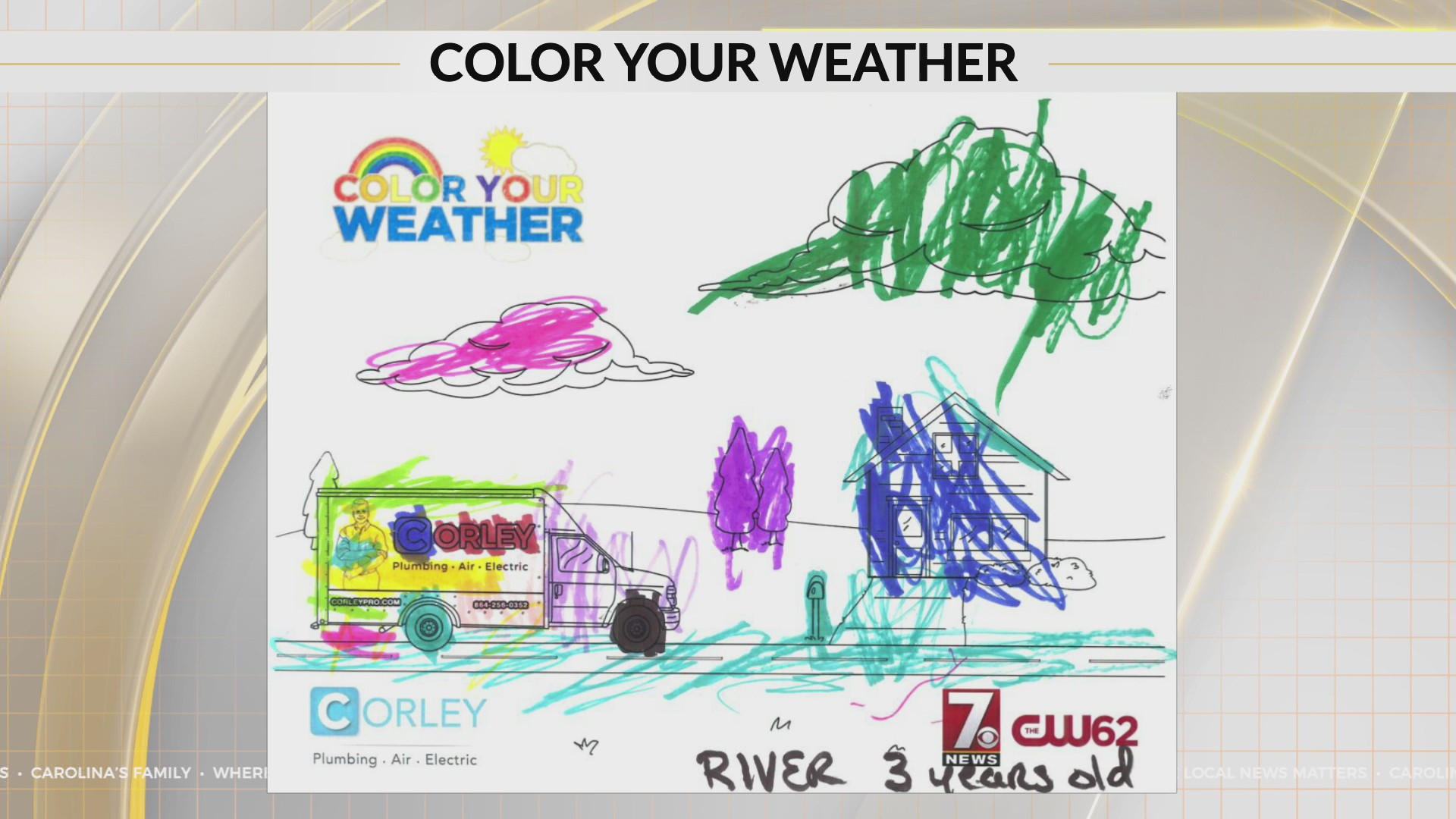 Color Your Weather River age 3