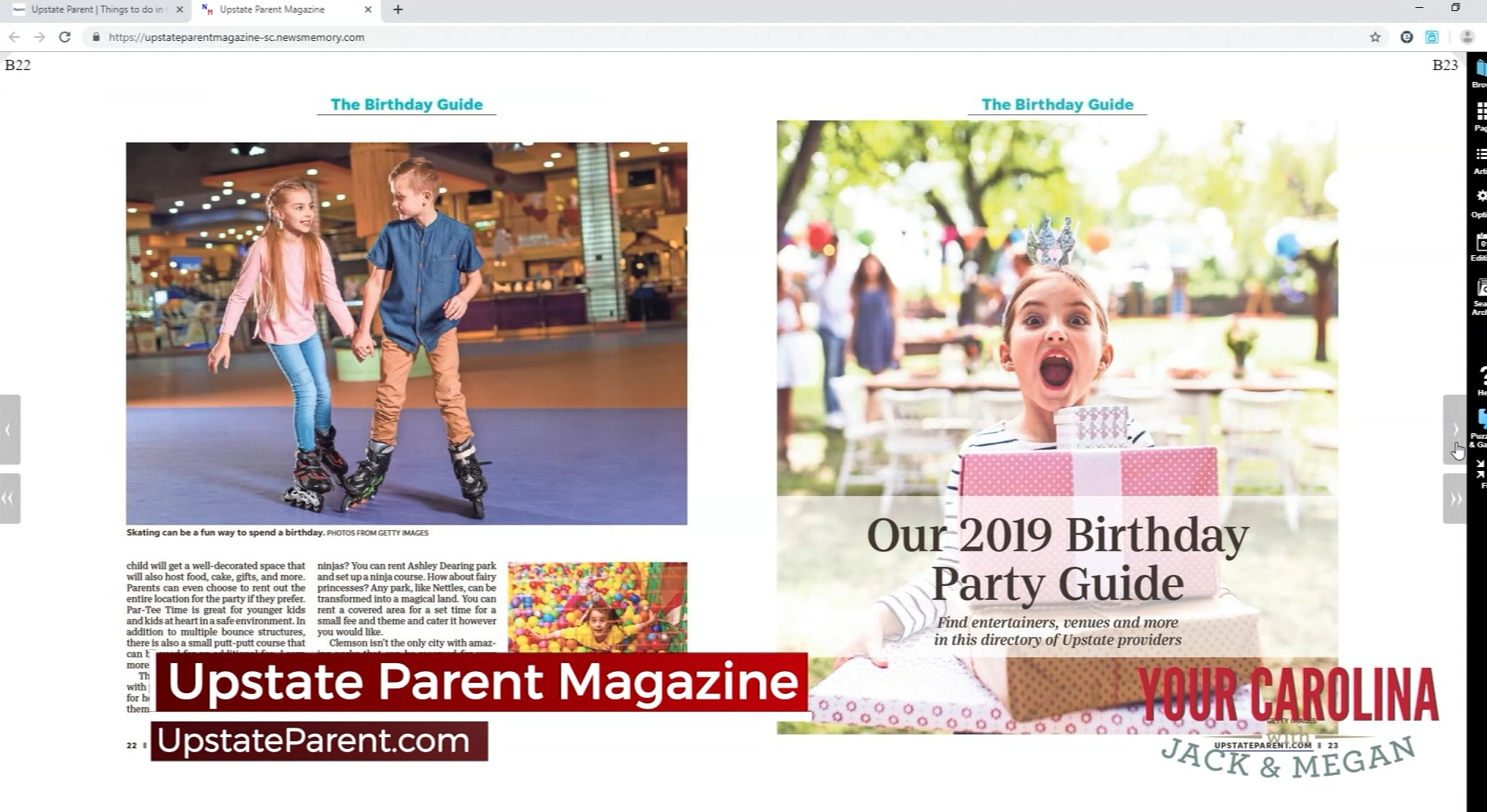 July Issue Of Upstate Parent is Here