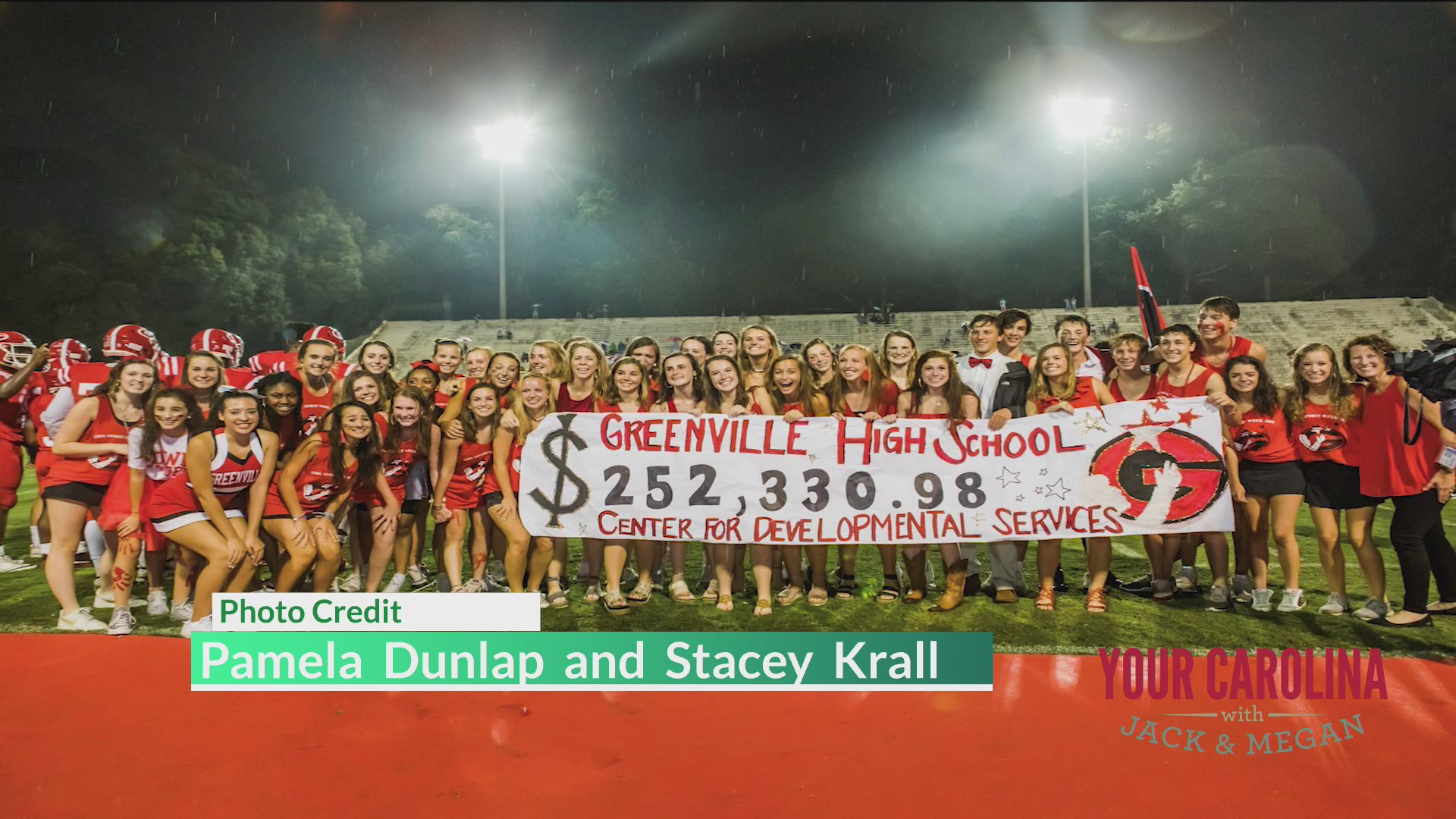 Good News - Greenville High Raises Record Amount During Spriit Week