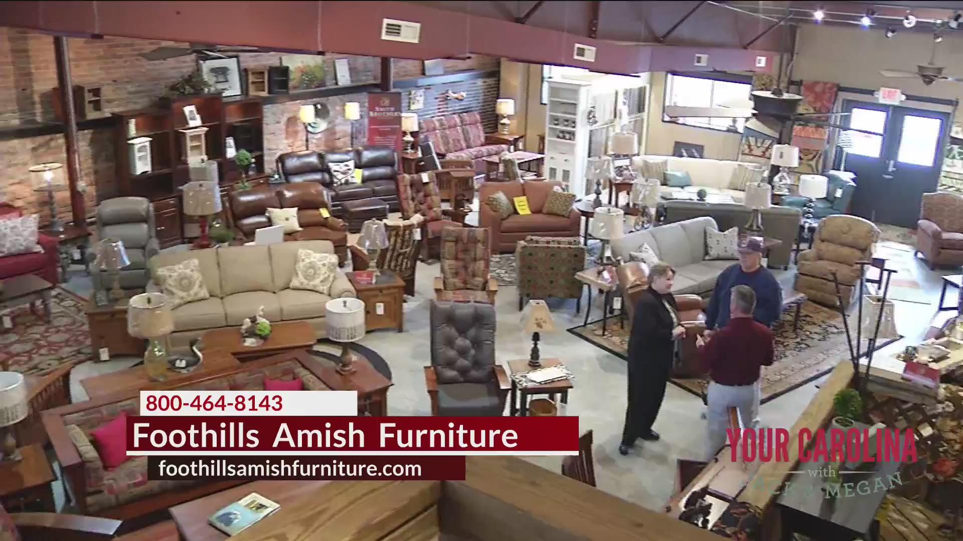Foothills Amish Furniture Columbus Day Sale