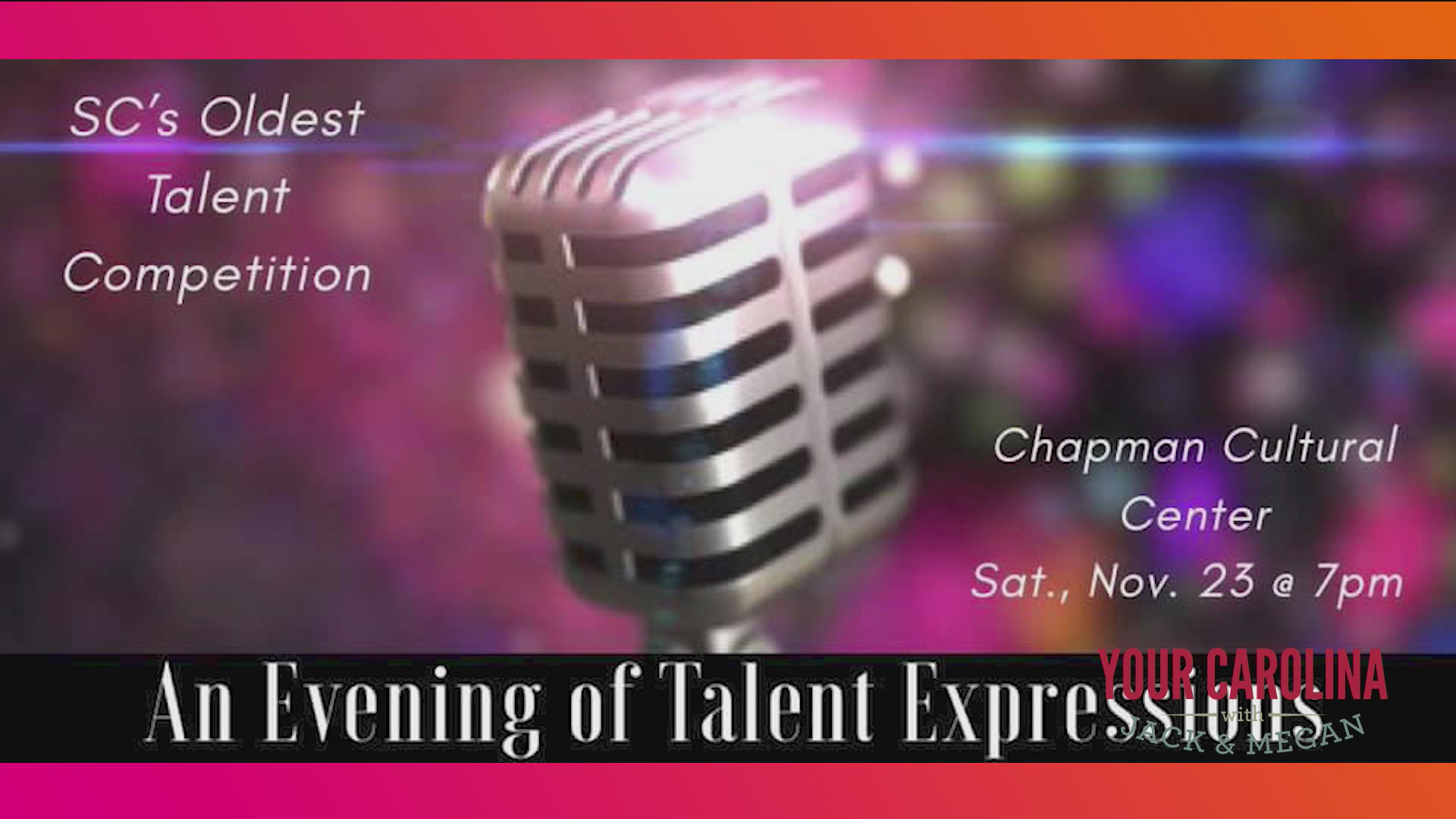 An Evening of Talent Expressions This Saturday