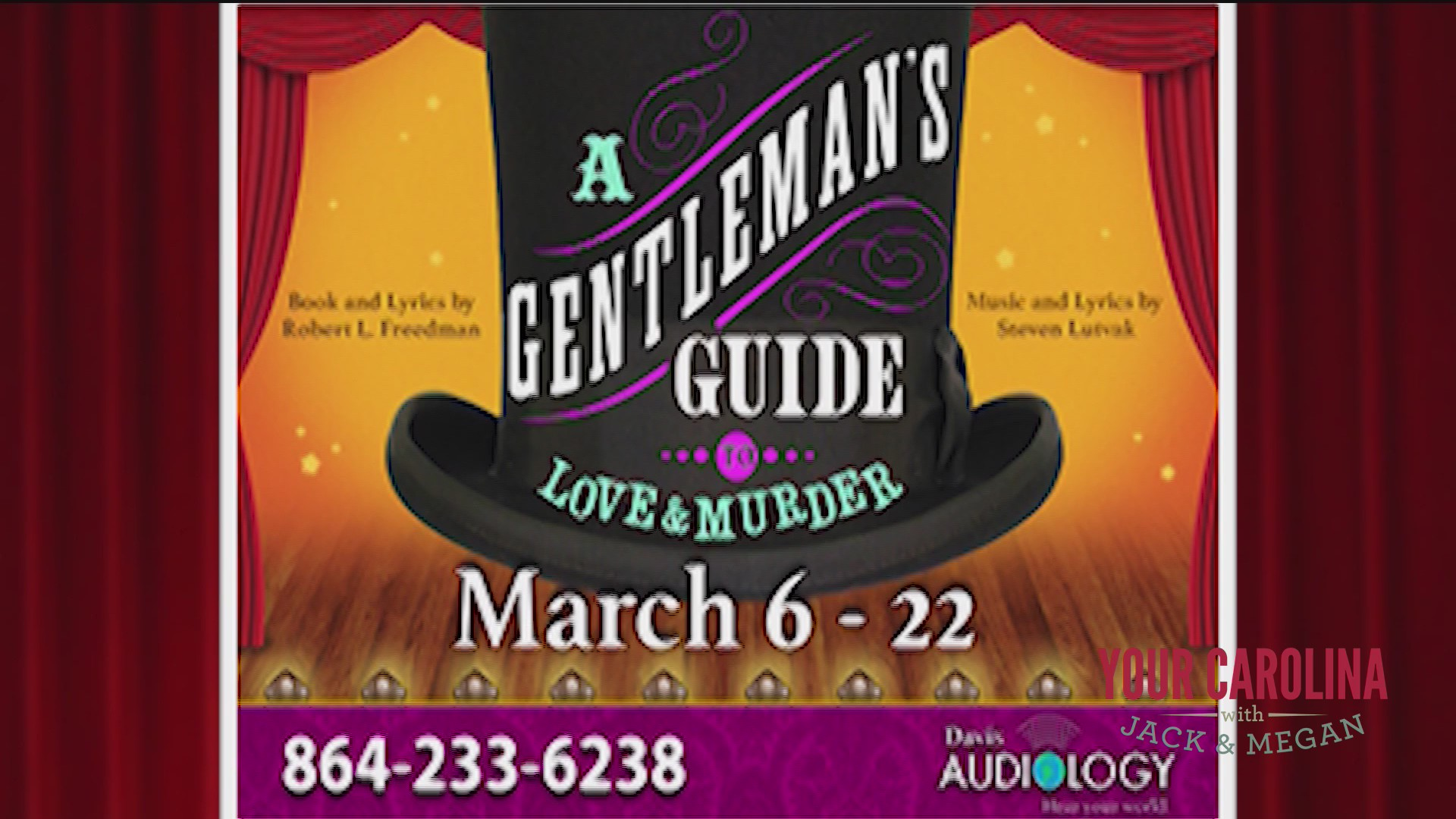 Greenville Theatre Presents A Gentleman's Guide to Love and Murder