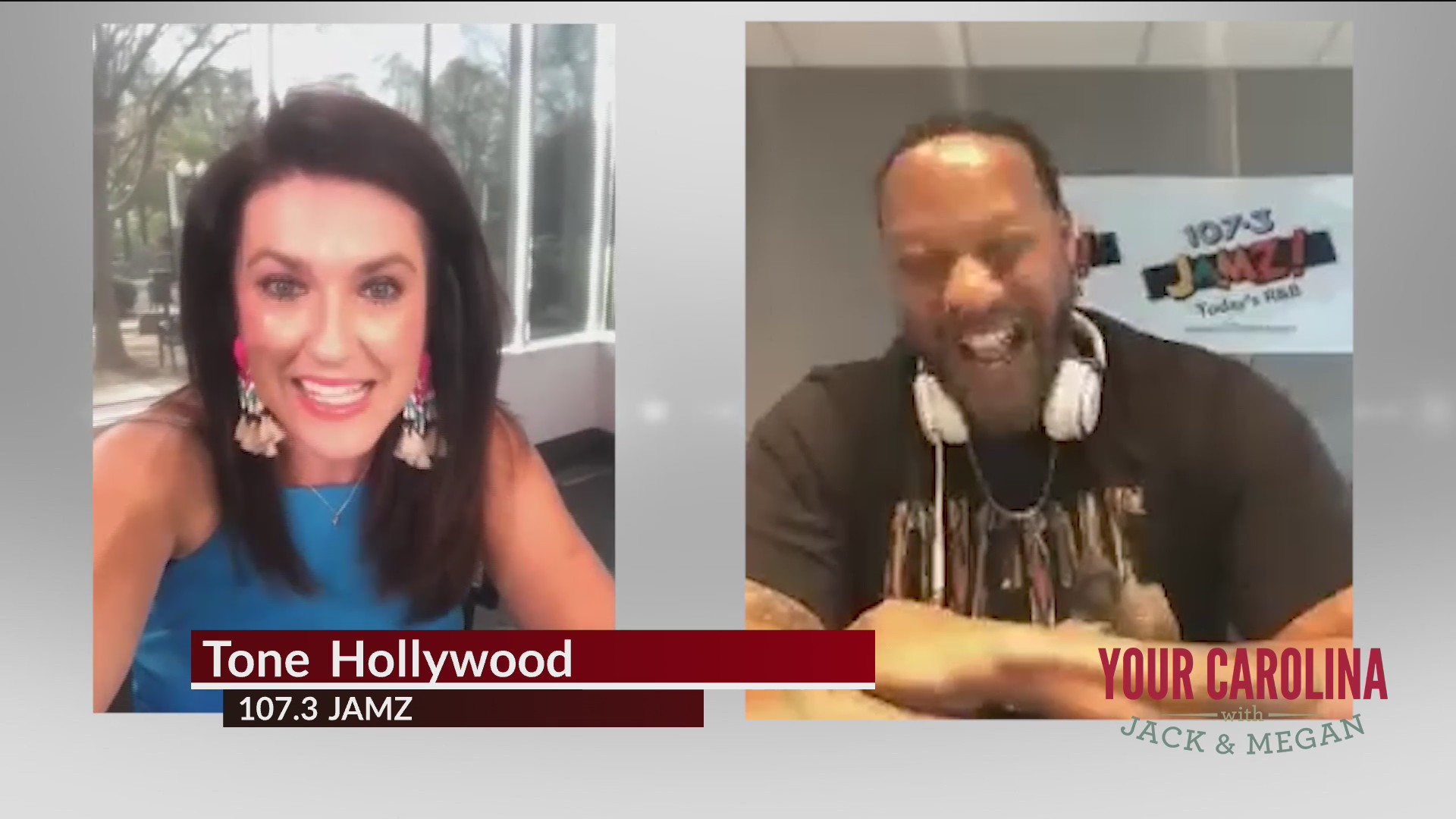 Megan Checks In With Tone Hollywood