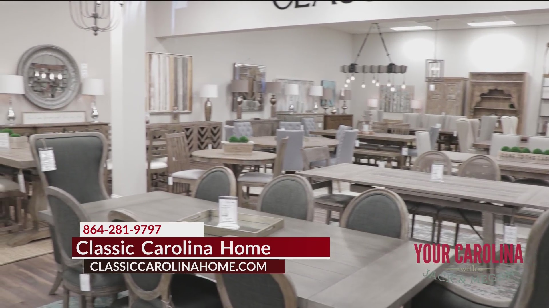 Show Off Your Dining Room With A New Table From Classic Carolina Home