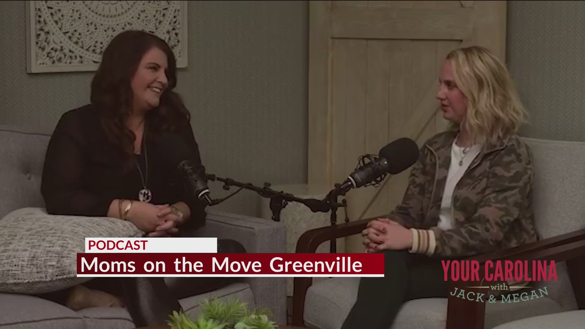 Moms on the Move Greenville Podcast