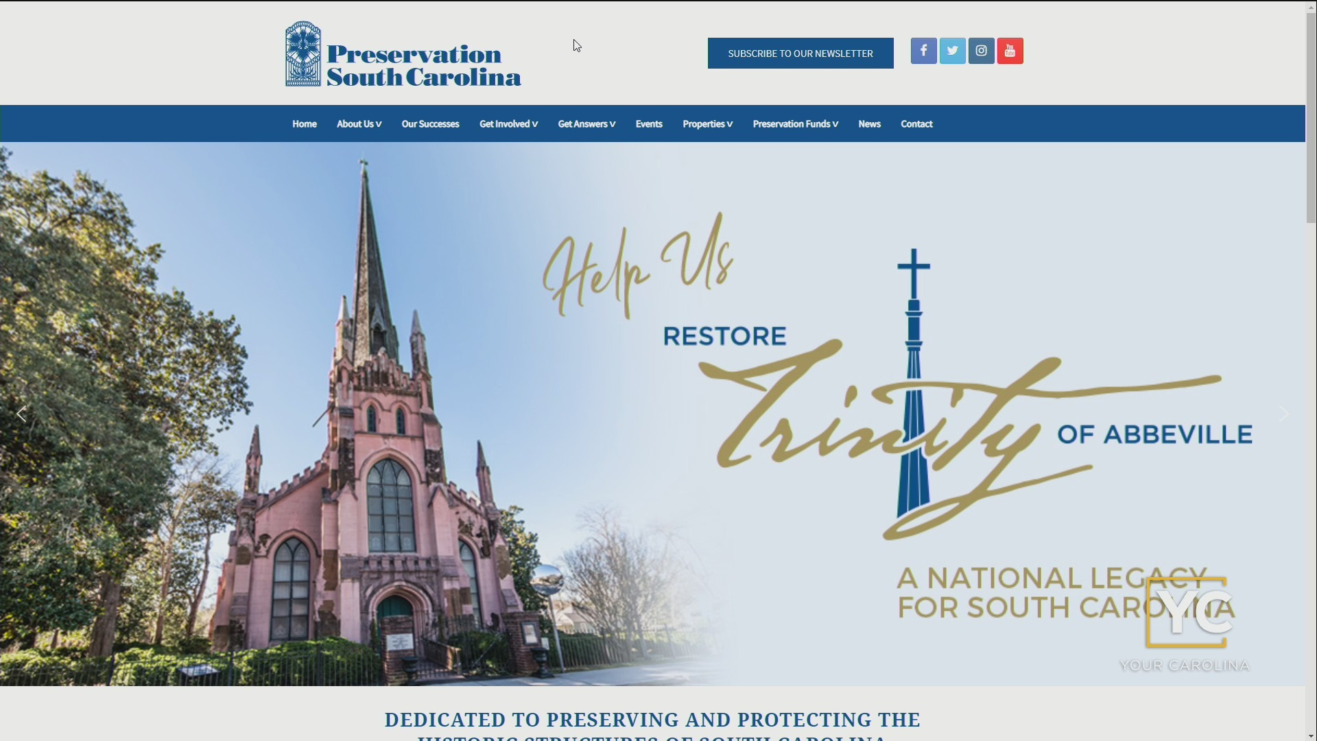 PreserveSC - Saving Places And Sacred Spaces