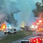 1 dead, 1 hurt in fiery crash in Anderson Co. 💥😭😭💥