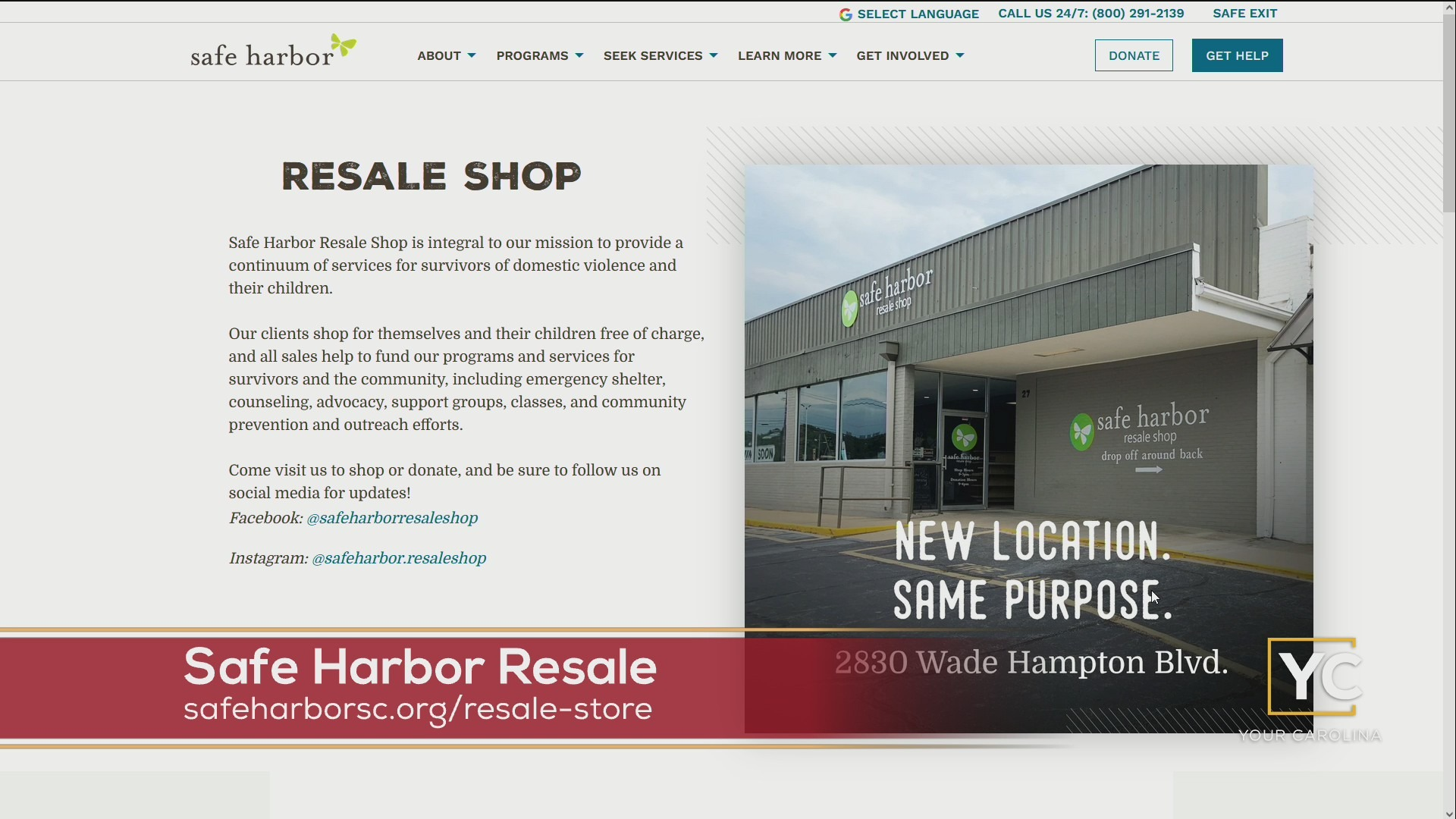 Safe Harbor Resale - Fall Fashion