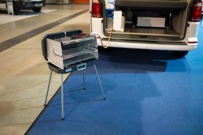 Grillen / BBQ mit dem VW Camper Reisemobil Caravan von WSR Reisemobile